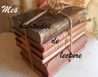 mes habitudes de lecture